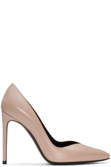 Saint Laurent - Pink Paris Skinny Heels