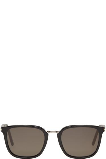 Saint Laurent - Black SL 131 Combi Sunglasses