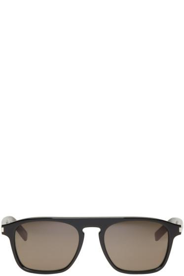Saint Laurent - Black SL 158 Sunglasses