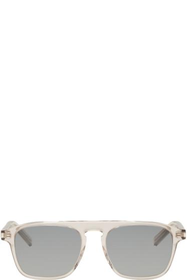 Saint Laurent - Transparent SL 158 Sunglasses