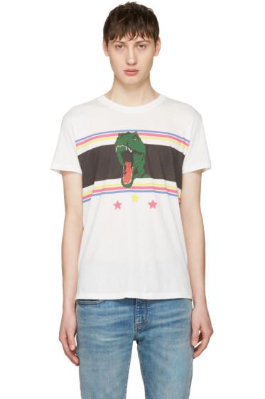 Saint Laurent - White T-Rex T-Shirt