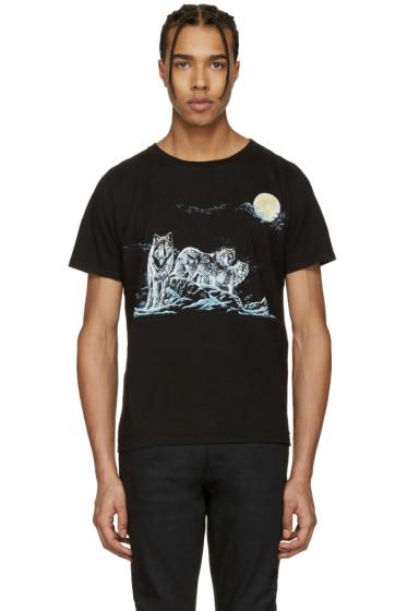 Saint Laurent - Black Wolf Pack T-Shirt