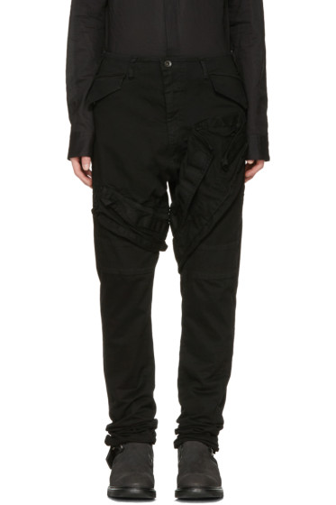 Julius - Black Signature Cargo Pants