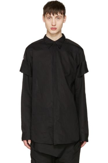 Julius - Black Arm Bands Shirt