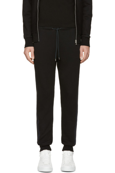 PS by Paul Smith - Black Jogger Lounge Pants