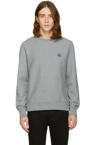 PS by Paul Smith - Grey Logo Pullover