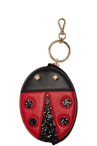 Charlotte Olympia - Black Bug Keychain