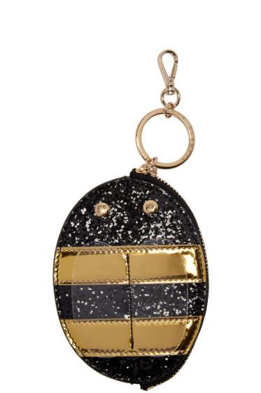Charlotte Olympia - Black Buzz Keychain