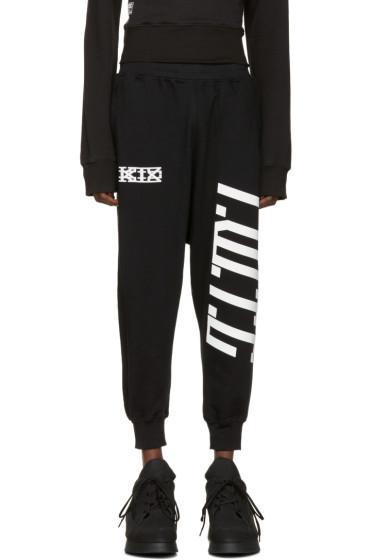 KTZ - Black Harem Lounge Pants