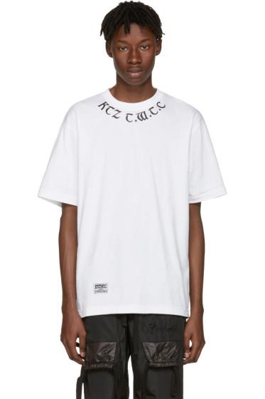 KTZ - White 'The World To Come' T-Shirt