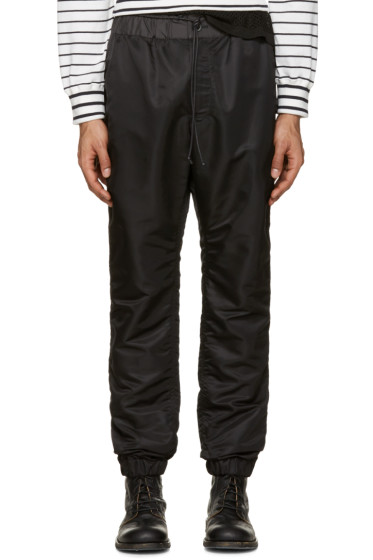 Sacai - Black MA-1 Trousers