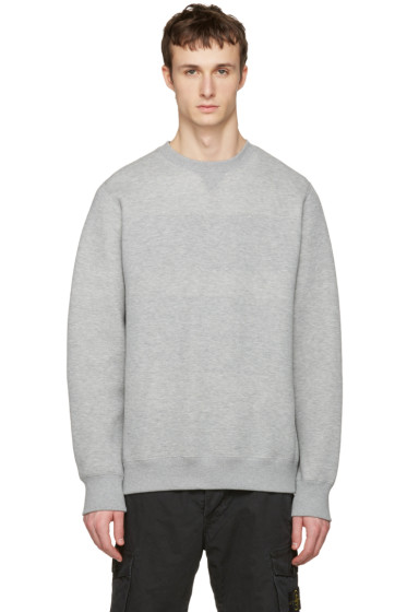 Sacai - Grey Sweats Pullover