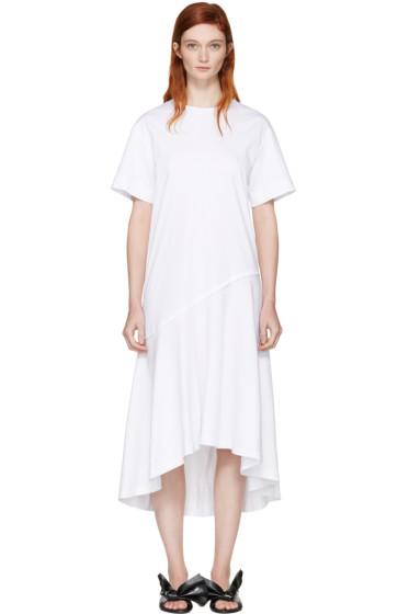 Cédric Charlier - White T-Shirt Dress