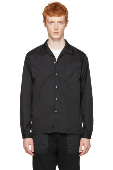 Nanamica - Black Wind Shirt