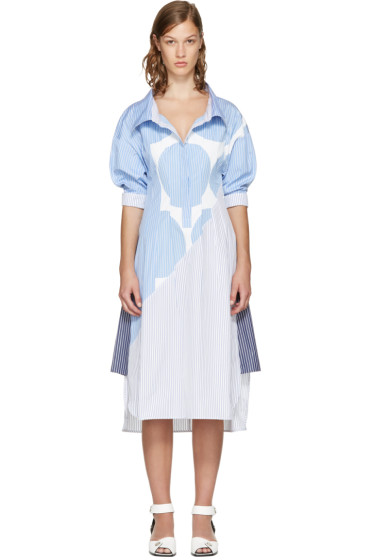 Stella McCartney - Blue Striped Sandrina Dress