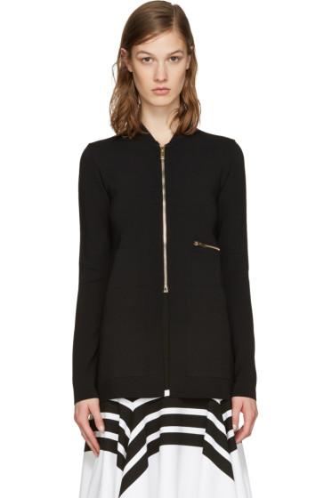 Stella McCartney - Black Jersey Zip-Up Jacket