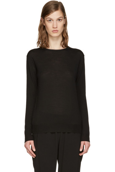 Stella McCartney - Black Wool Pullover