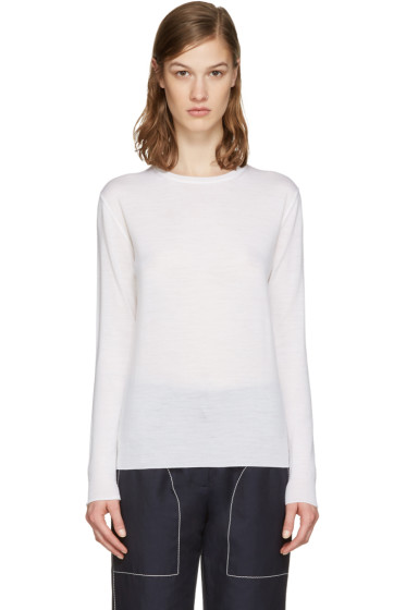 Stella McCartney - Ivory Wool Pullover
