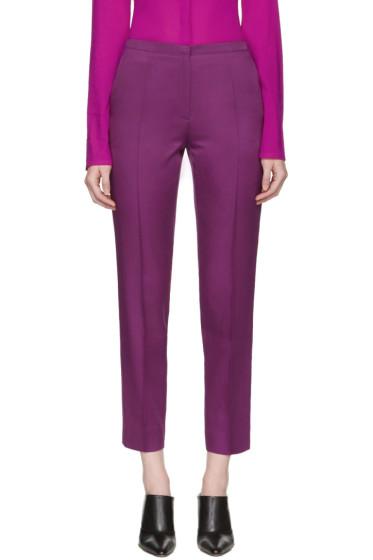 Nina Ricci - Purple Cropped Trousers