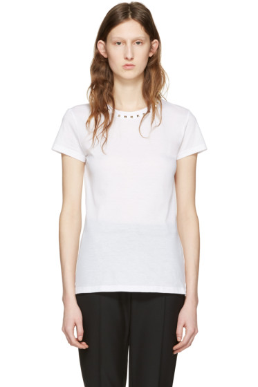 Valentino - White 'Rockstud Untitled' 09 T-Shirt