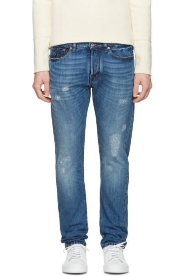 Valentino - Blue Slim Jeans