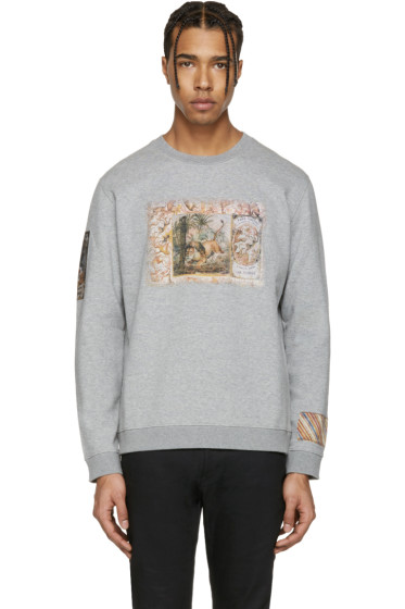 Valentino - Grey Cuban Cigar Box Pullover