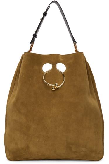J.W. Anderson - Tan Large Pierce Hobo Bag