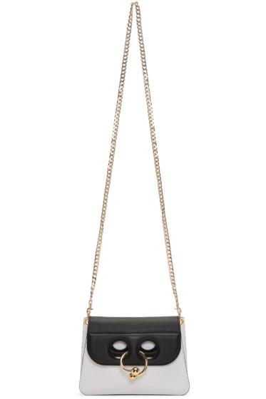 J.W. Anderson - White & Black Mini Pierce Bag