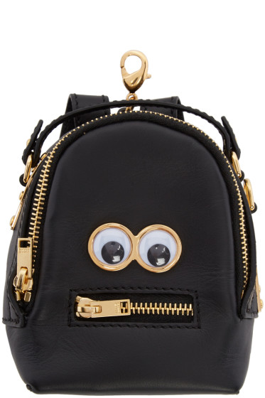 Sophie Hulme - Black Micro Wilson Backpack Coin Pouch