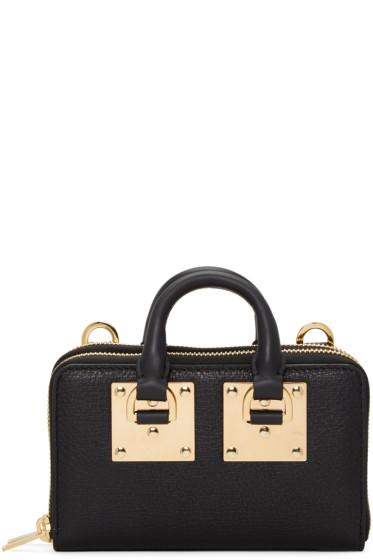 Sophie Hulme - Black Medium Albion Double Zip Wallet Bag