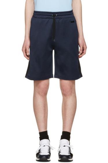 AMI Alexandre Mattiussi - Blue Track Shorts