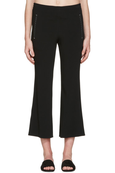 Calvin Klein Collection - Black Kick Flare Lounge Pants