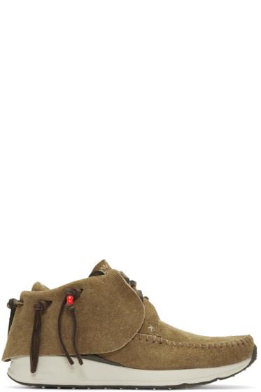 Visvim - Brown FBT Moccasin Sneakers