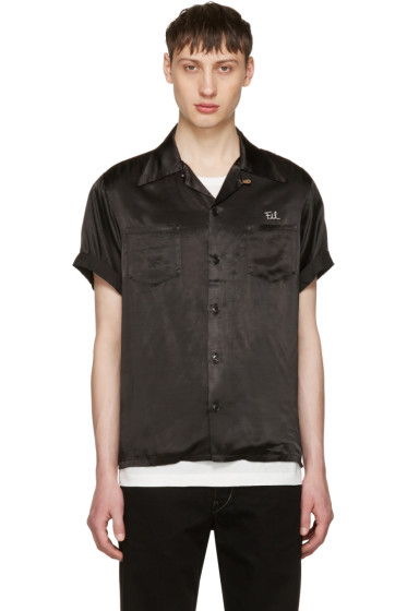 Visvim - Black 'Peerless' Irving Shirt