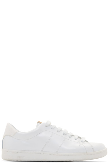 Visvim - White Foley-Folk Sneakers