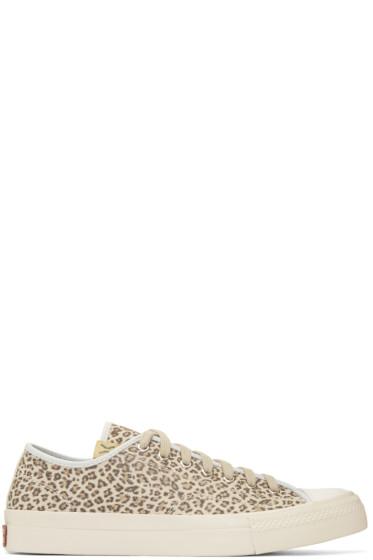 Visvim - Brown Leopard Skagway Lo Sneakers