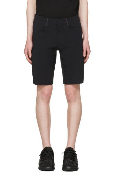 Arc'teryx Veilance - Black Voronoi Shorts