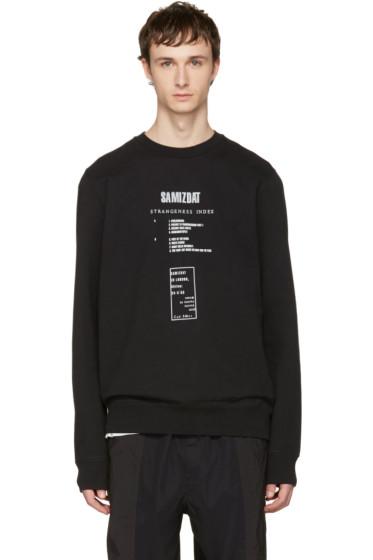 Yang Li - Black 'Samizdat' Album Sweatshirt