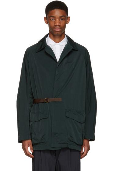 Kolor - Green Side Tie Jacket