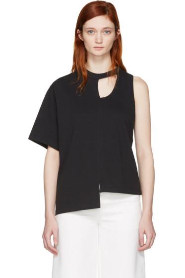 Facetasm - Black Asymmetry T-Shirt