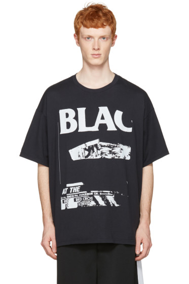 Facetasm - Black 'Bla' T-Shirt