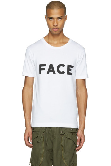 Facetasm - White 'Face' T-Shirt