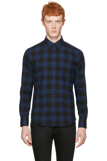 Naked & Famous Denim - Blue Check Regular Shirt