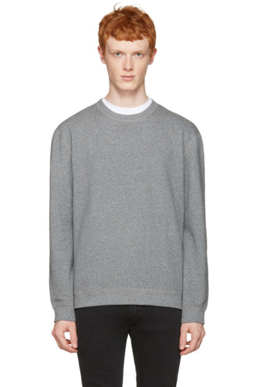 Naked & Famous Denim - Grey Slim Pullover
