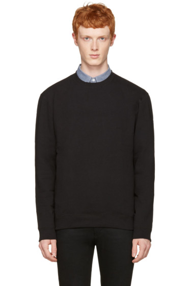 Naked & Famous Denim - Black Slim Pullover