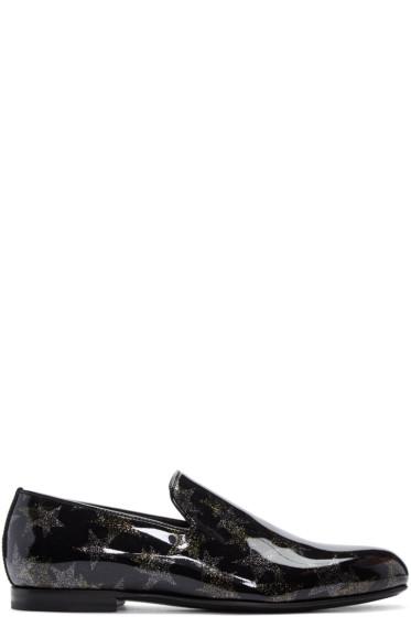 Jimmy Choo - Black Star Sloane Loafers
