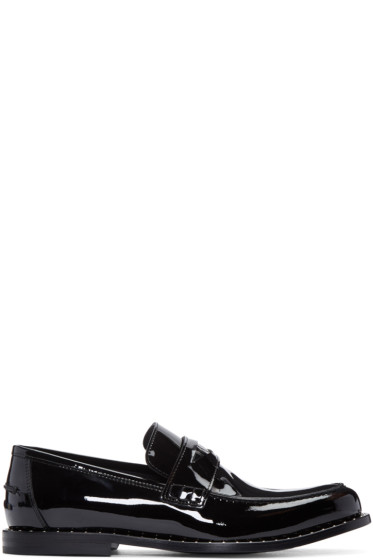 Jimmy Choo - Black Studded Darblay Loafers