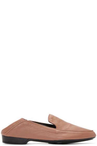 Robert Clergerie - Brown Fanim Loafers