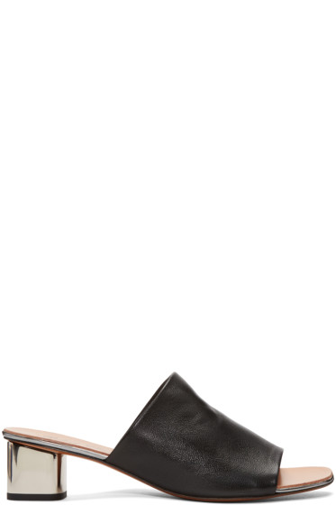 Robert Clergerie - Black Lato Mules
