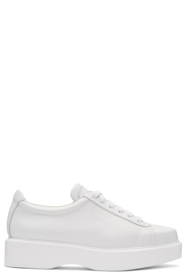 Robert Clergerie - White Pasket Sneakers